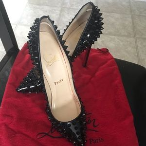 Christian Louboutin spiked pigalle